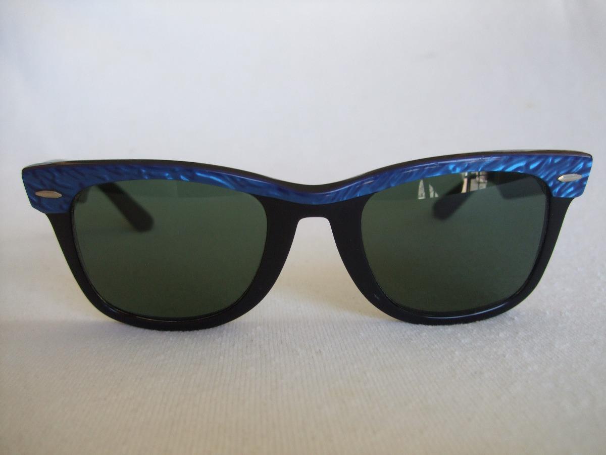 gafas ray ban wayfarer azules