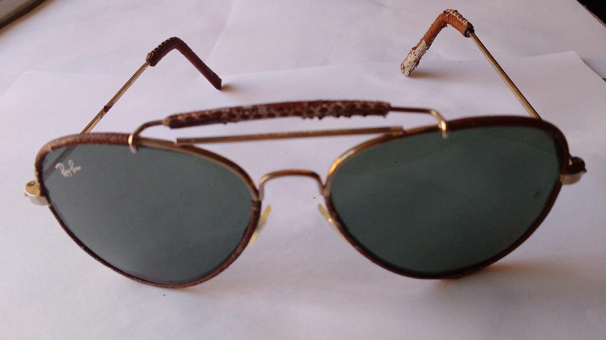 d1be297af3 lentes sol ray ban outdoosrman cuero oro 14 kilates usa b&l ...