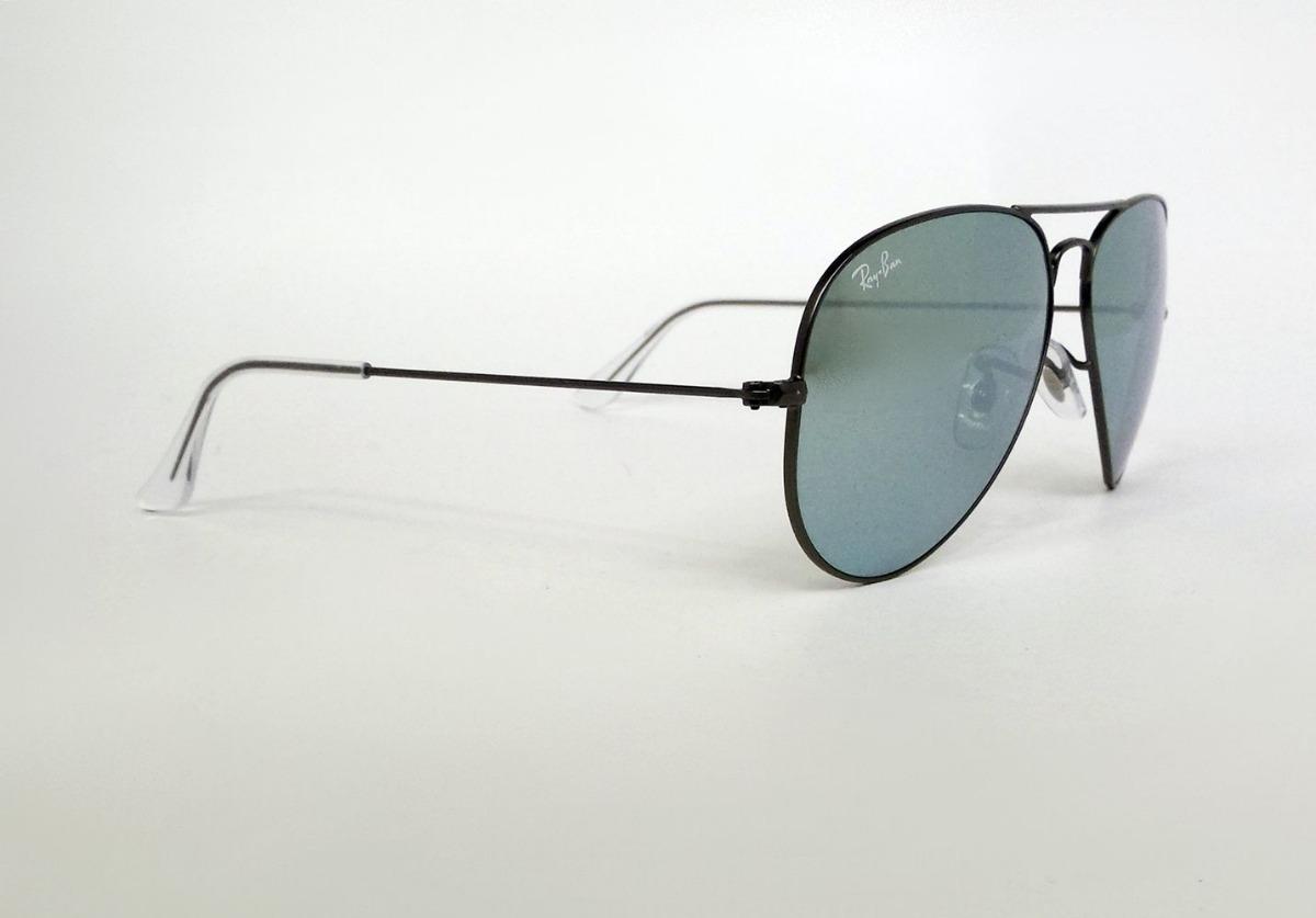 e778201c25 lentes sol ray ban rb3025 029/30 aviator negro flash silver. Cargando zoom.