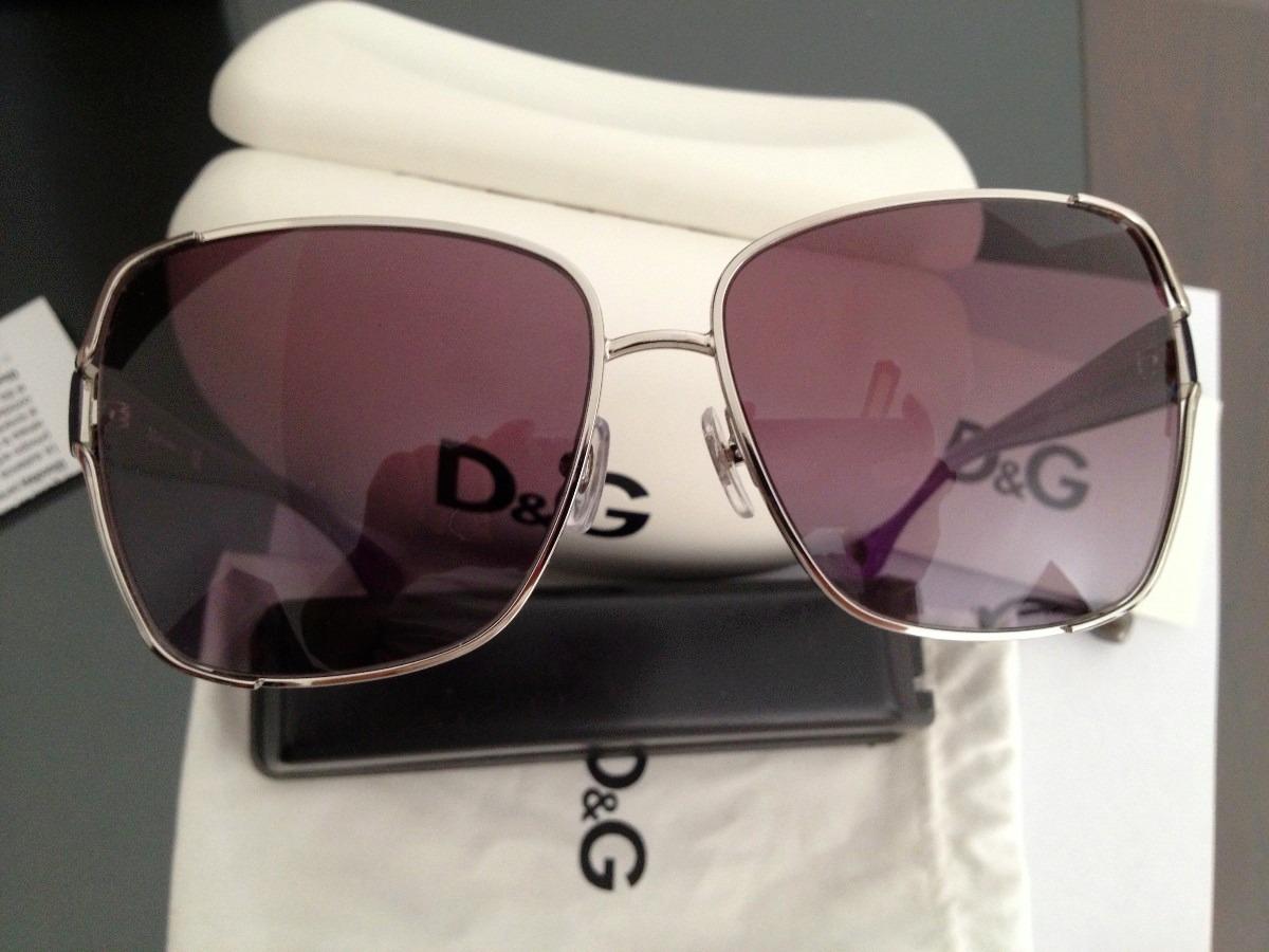 637fbf7eef Lentes Solares D&g Dolce Gabbana Mod. Owen Color Lila Maa ...