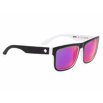 Lentes Spy Discord Whitewall - Grey W/blue Spectra Sun