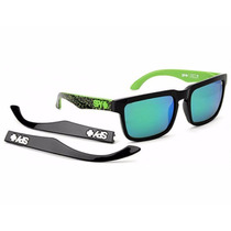 Lentes Spy Helm Kb Assault - Grey W/ Green Spectra (+gloss B