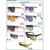 Lentes Gafas Sol Diseño Spy Flynn Tornasol Colores