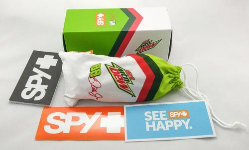 lentes spy dirty mo diet mountain d. livery, nuevos en caja!