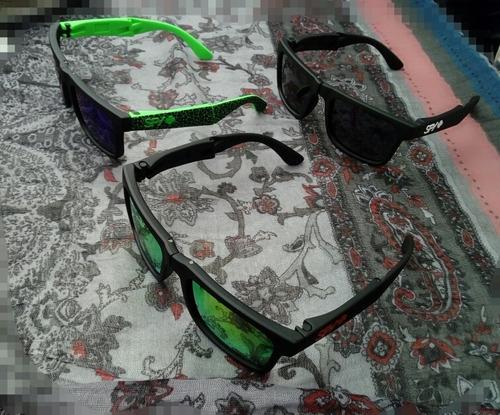 lentes spy+ ken block's fold polarizados 100% proteccion uv