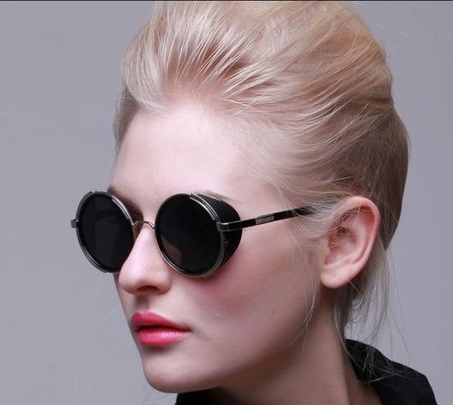 lentes steampunk importados! de moda c caja y paño