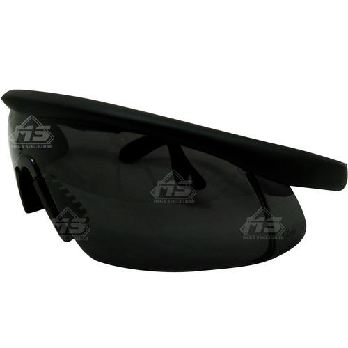 lentes steel pro demon humo marco de pvc anti empañe industr