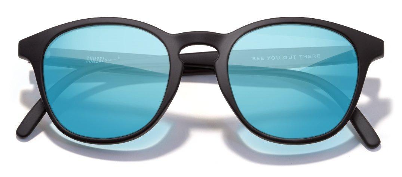 90f084cee2 lentes sunski yubas negro mate/azul espejo polarizados maui. Cargando zoom.
