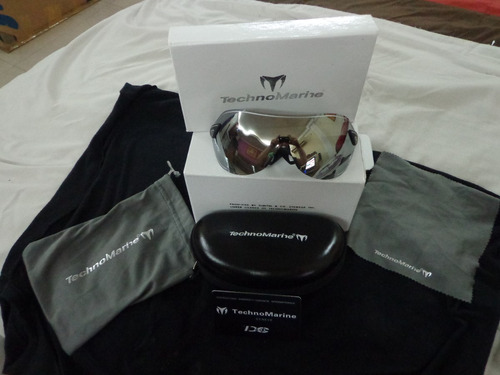 lentes technomarine scuba nuevos de paquete