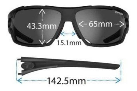 lentes tifosi amok polarizado outdoor bicicleta  running