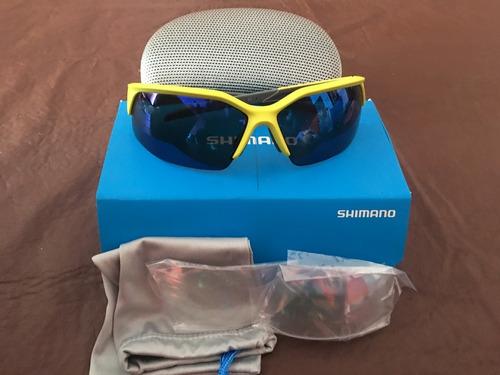 lentes top anteojos shimano ciclismo gama alta ces51r oferta