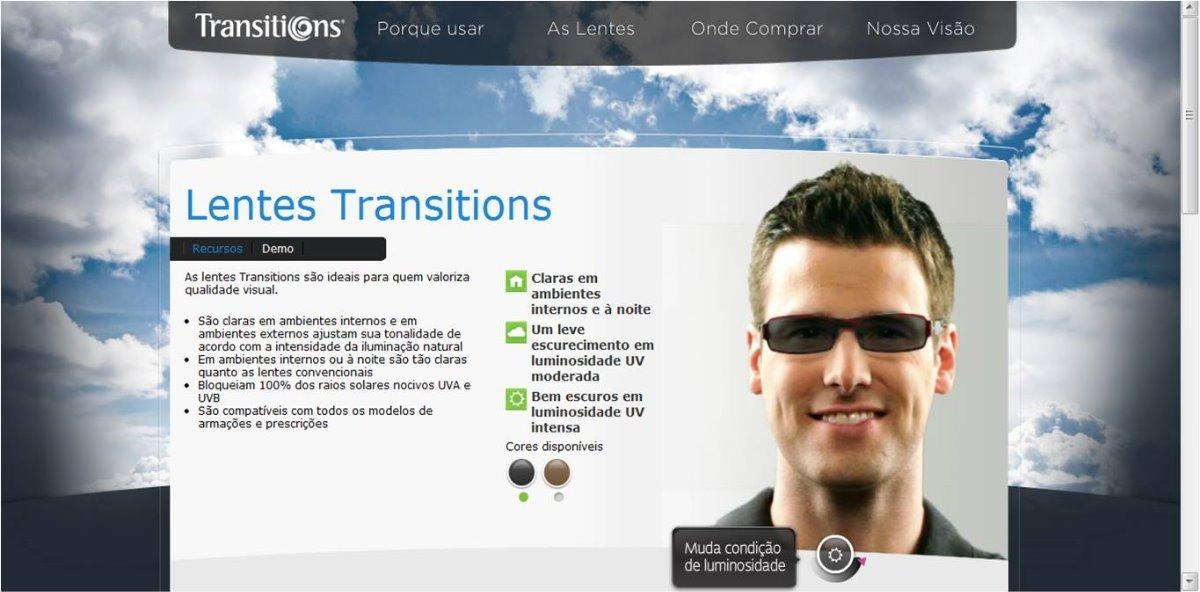 Lentes Transitions Anti Reflexo Monofocais - R  185,00 em Mercado Livre e359cdf836