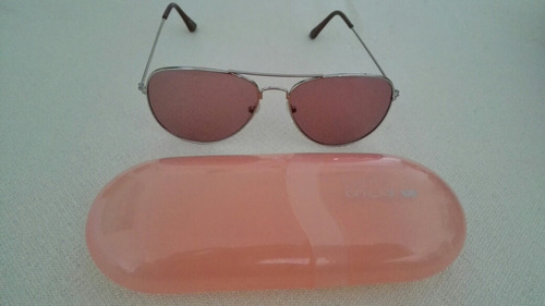 lentes transparente tipo aviador