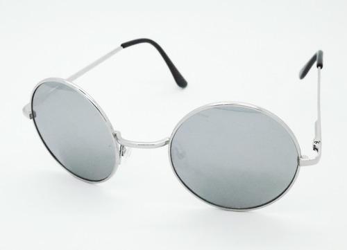 lentes uv 400 y flex john lennon redondo espejados tornasol