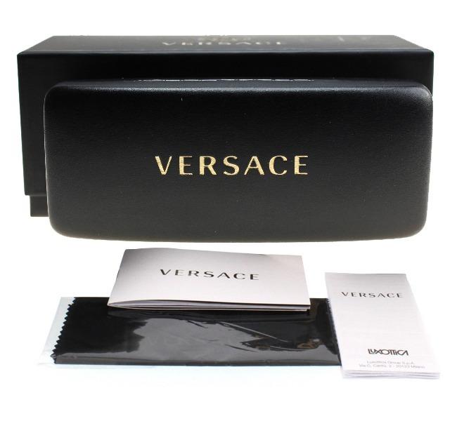 aefcfe353282e Lentes Versace Ve2184 1252 6u Negro-dorado Dama Original ...