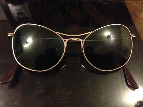 lentes vintage de sol de oro 12k marca willson made in usa