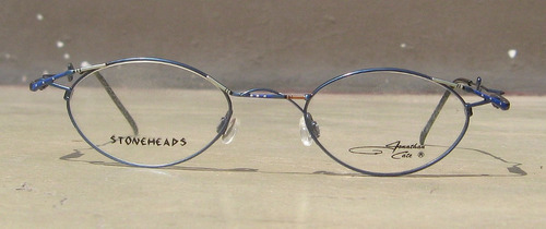 lentes vintage jonathan cate ovalados