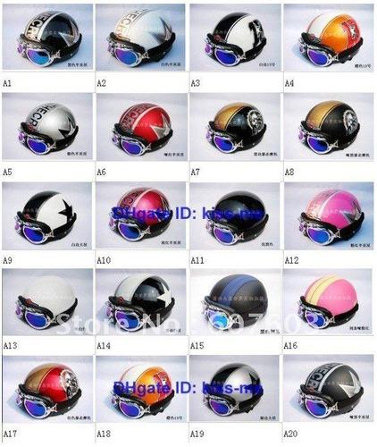 lentes vintage  vespa piloto todos los colores