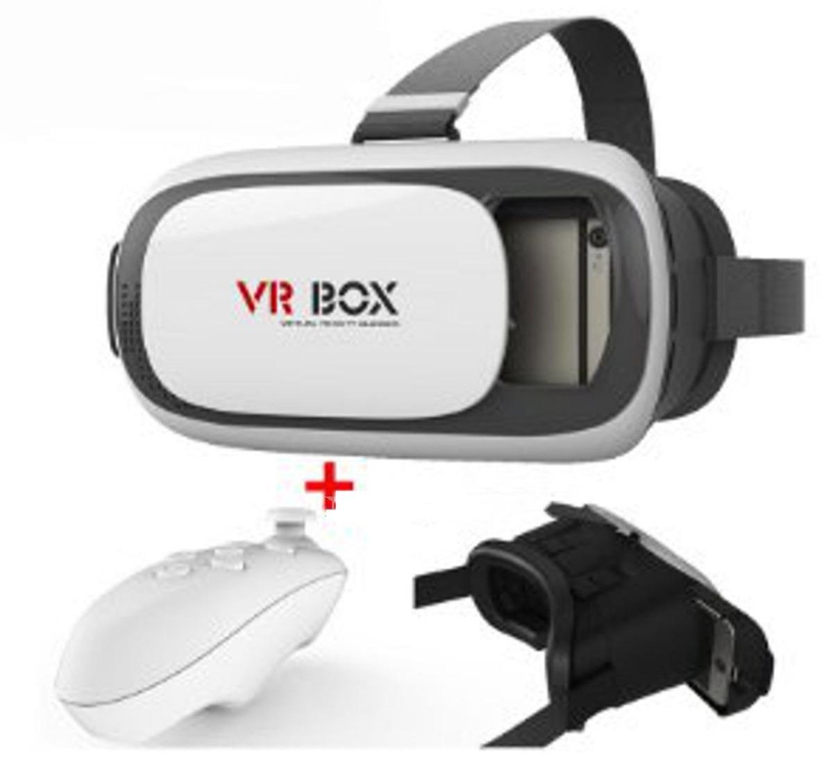 Mando A Distancia Bluetooth Para Gafas 3d Vr Box 3d De Realidad