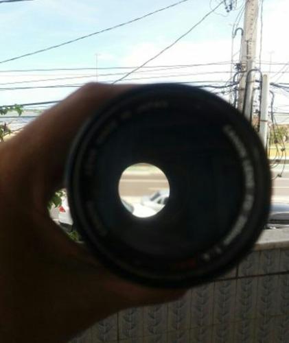 lentte canon mecânica 200mm f4