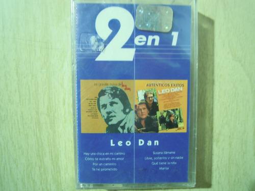 leo dan casette 2 en 1 sellado