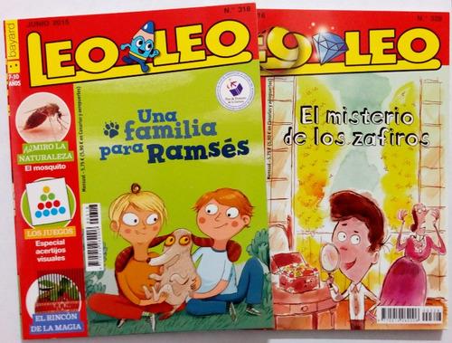 leo leo # 289 y 318 - revistas infantiles. set 2 unidades