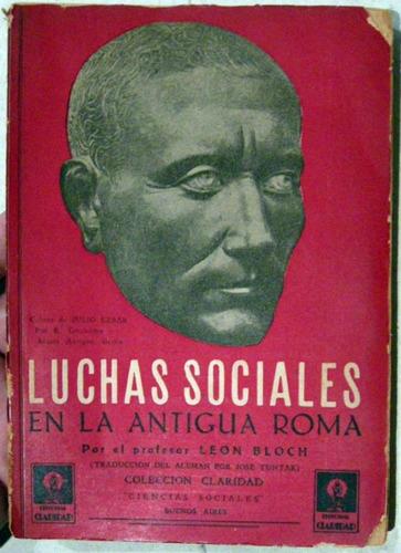 leon bloch luchas sociales en la antigua roma no envio
