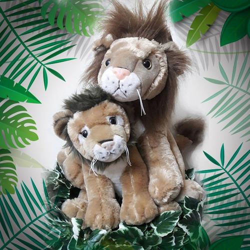 león de peluche 35 cm effa´s party