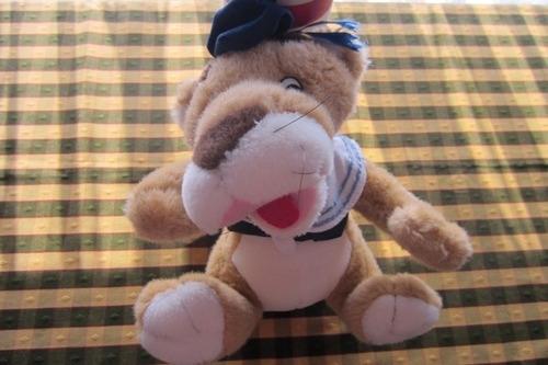 león de peluche, de 28 cm, excelente calidad!!!, impecable e