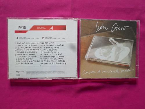 leon gieco, canciones de un cassette perdido