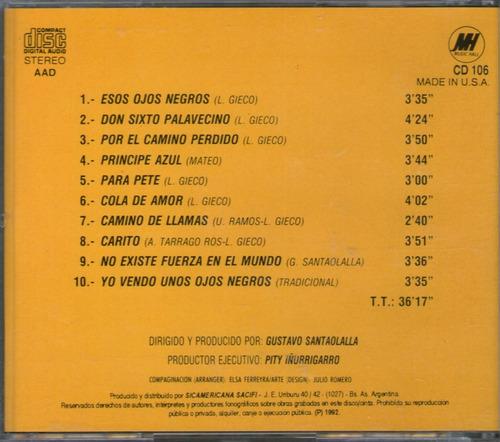 leon gieco - de ushuaia a la quiaca vol 1 -  cd
