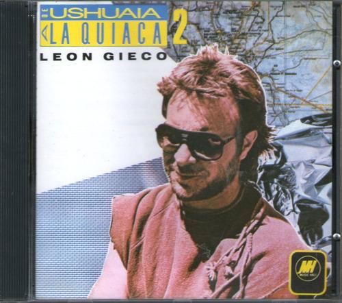 leon gieco - de ushuaia a la quiaca vol 2 -  cd