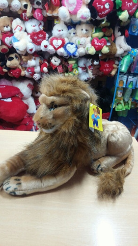 león peluche tigre