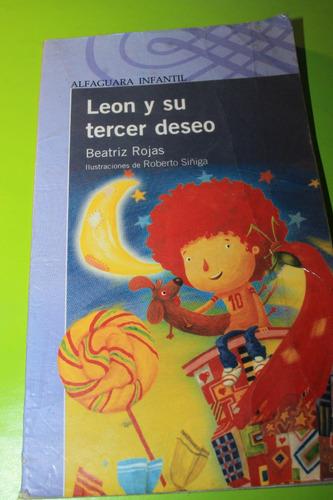leon y su tercer deseo   beatriz rojas