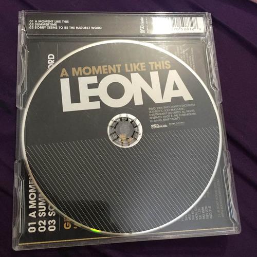 leona lewis a moment like this single importado inglaterra