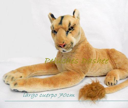 leona  o leon de peluche extrasuave exc calidad