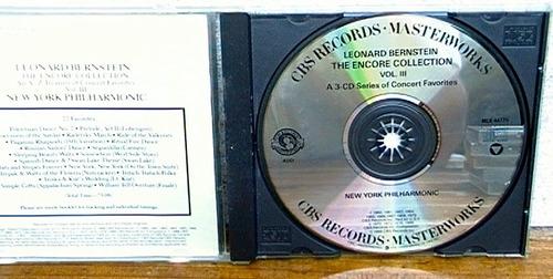 leonard bernstein: the encore collection vol 3