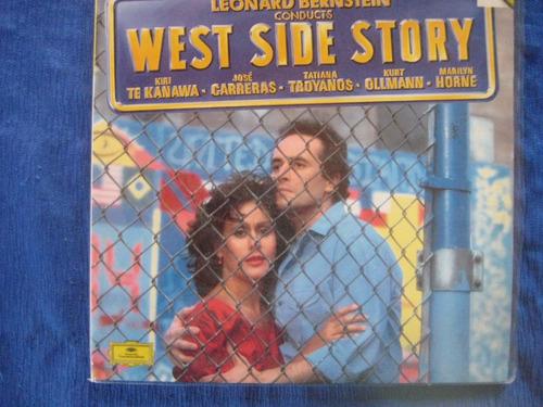leonard bernstein west side story lp doble vinilo aleman