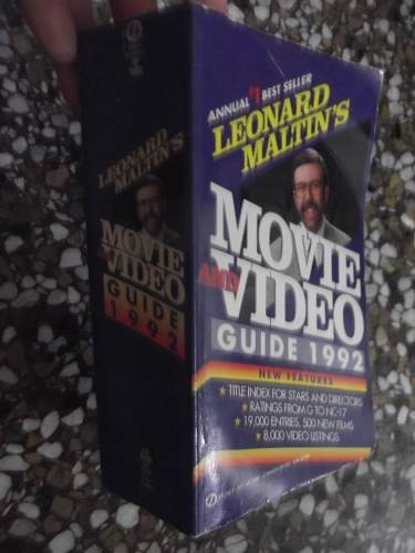 leonard maltin's movie and video guide 1992 19k en ingles