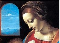 leonardo da vinci - obras do pintore em imãs de geladeira