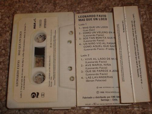 leonardo favio cassette mas que un loco