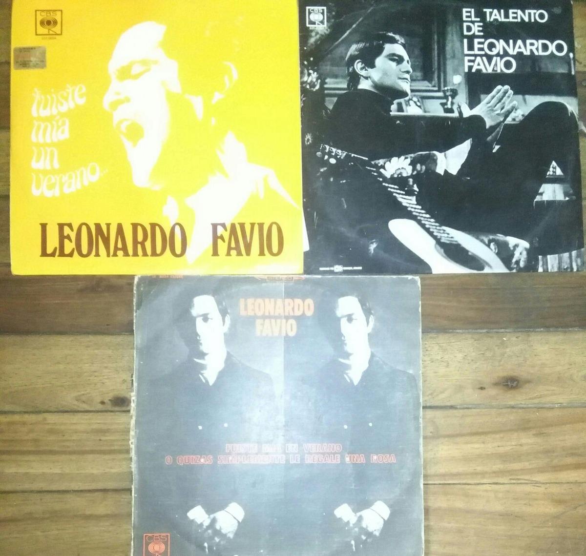 Leonardo Favio, Colección De 3 Discos En Vinilo - U$S 20,00 en ...