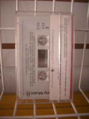 leonardo favio - los grandes exitos cassette muy buen estado