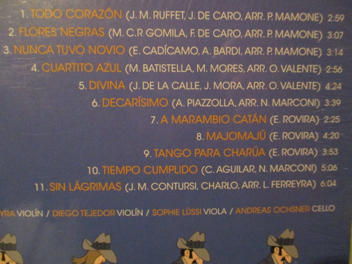 leonardo ferreyra tango string quartet - sin lágrimas