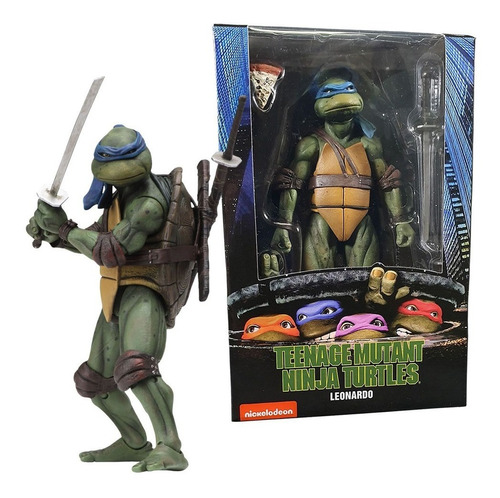 leonardo - teenage mutant ninja turtles 1990 - neca