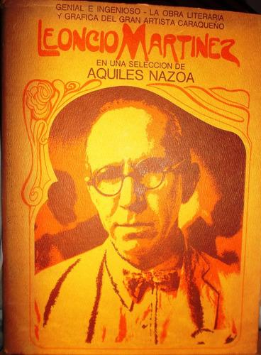 leoncio martinez. obras literarias