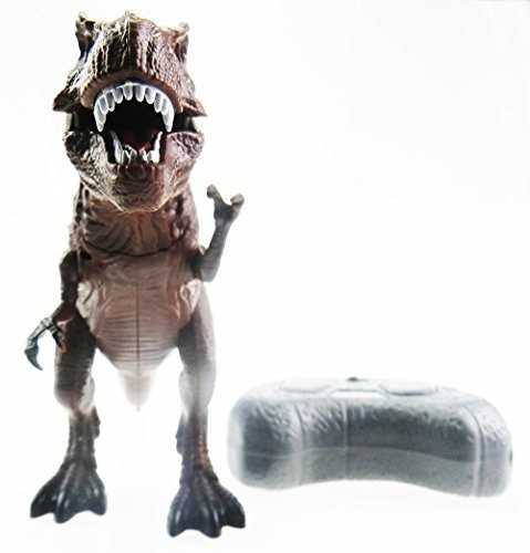 leones noche tech (tm) de control remoto rc rc tyrannosauru