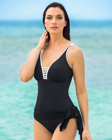 comprar online dc9cf b2c36 Leonisa Vestido De Baño Con Falda Multiestilo