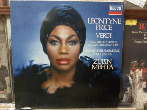 leontyne price disco de vinilo lp