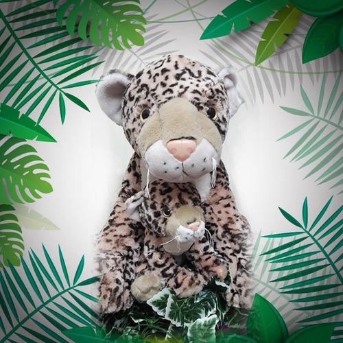 leopardo de peluche 50 cm effa´s party